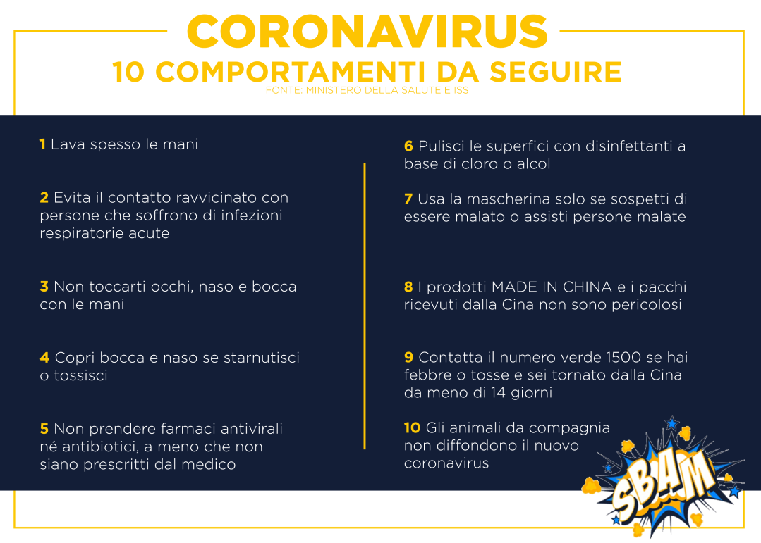 Pieghevole SiamoFutuo Coronavirus